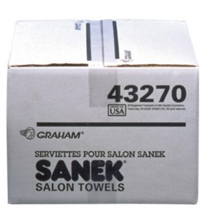 SANEK Premium all-purpose salon Paper Towels 500 Towels/Case