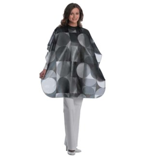 Vinyl Circles All Purpose Waterproof Cape, Extra Large