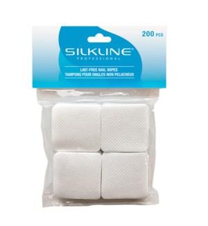SILKLINE Lint Free Nail Wipes 200/Box