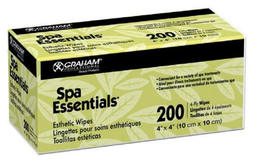 Non Woven Esthetic Lint Free Wipes 4 Ply, 4x4 Inch, 200/Pkg