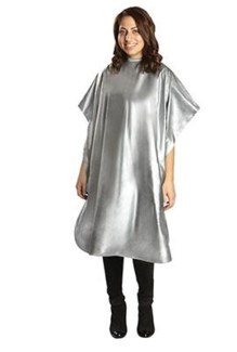 All Purpose Vinyl Cape, Silver (1 Pack)