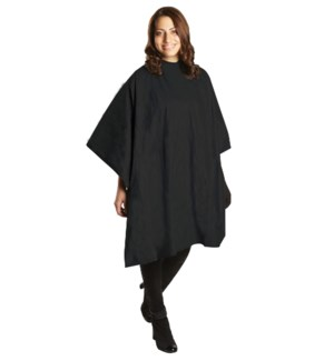 All Purpose Waterproof Vinyl Cape Black Extra Large BES53XLBKUCC