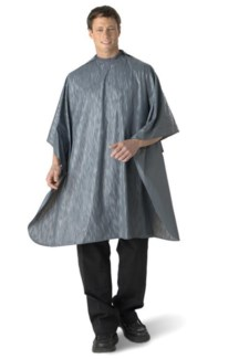 All Purpose Waterproof Vinyl Cape, Grey, Extra Large