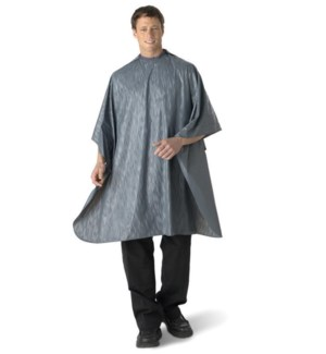 All Purpose Waterproof Vinyl Cape, Grey, Extra Large BES53XLGYUCC