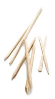 Birchwood Manicure Sticks 4 Inch, 100/Bag