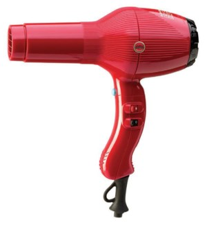 GAMMA PIU 5555 Red Turbo Tourmaline Hair Dryer