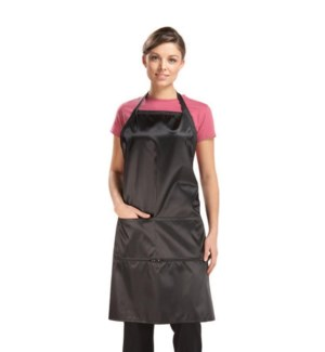 Le Pro Apron W/Zippered Pockets BES57ZIPUCC