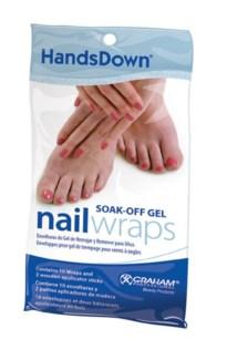 Graham Handsdown Soak-Off Gel Nail Wraps 10/Pk