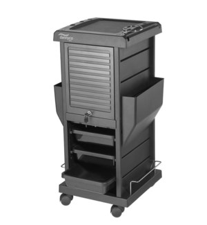 Deluxe Trolley w/ Locking Feature, Black