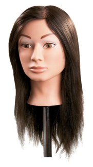 * Mannequin Synthetic Hair Female 18in