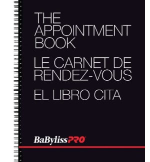 The Appointment Book, 24x31.5 cm, 50 Double-Sided, 4 Columns   CNBO