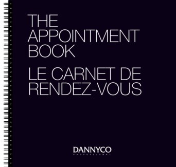 The Appointment Book, 31.8x31.5 cm, 100 Double-Sided, 6 Columns  CNBO