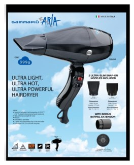 GAMMA PIU  Ultra Light Hair Dryer