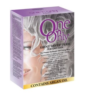 One'n Only Argan Oil Perm for Coarse or Fine Grey Hair FP