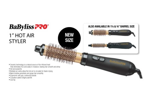 BABYLISS PRO 25MM (1 Inch) Hot Air Styler