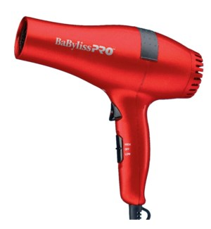* BABYLISS PRO Ceramic Hair Dryer RED