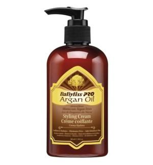 BABYLISSPRO Argan Oil Styling Cream 10oz (300ml)