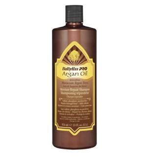 BABYLISSPRO Argan Oil Moisture Repair Shampoo 33oz (Litre)