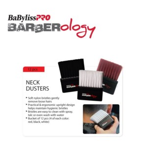 BABYLISSPRO Barberology Neck Duster Brushes