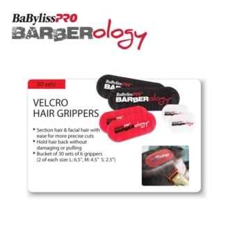 BABYLISSPRO Barberology Hair Grip Separators 30 PCS
