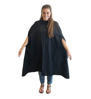 BABYLISS Black Cutting Cape w/ opening For Arms