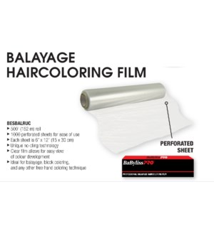 BALAYAGE Hair Coloring Film (1000 Perforated Sheets)