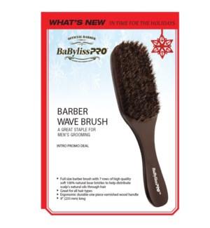 @ BABYLISS PRO 7-Row Barber Wave Brush