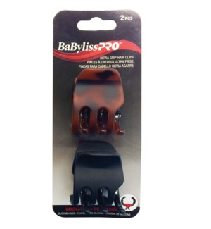 @ BABYLISSPRO Ultra Grip Hair Clips, 2/Pack