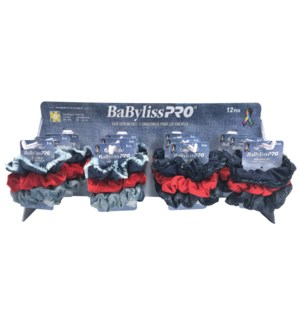 BABYLISS 36pc Hair Scrunchie Display NOD JA19