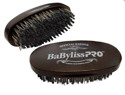 Oval Palm Barber Brush REINFORCED BRISTL