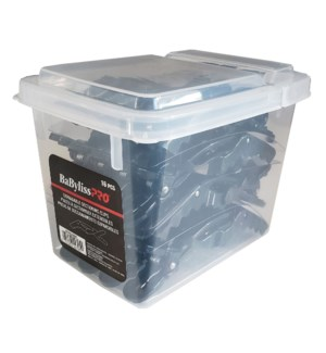 @ Black Expandable Sectioning Clips 4-1/2 Inch 16/Box DANBESPRO40BXUC