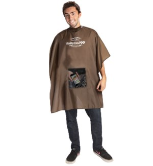 Babyliss Brown Barber Smart Cutting Cape BESMARTBARUCC