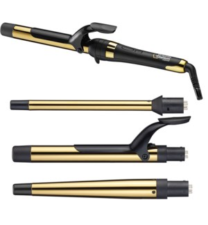 *CN BabylissPro GXT Curling Iron 4pc Interchangeable Barrels SO19