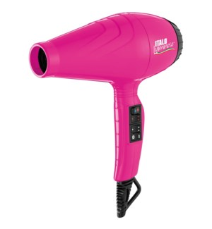 BABYLISS PRO ITALO Luminoso PINK Hair Dryer