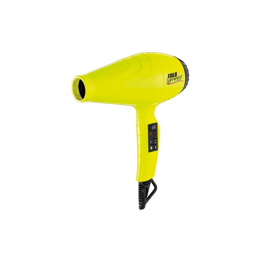 BABYLISS PRO ITALO Luminoso YELLOW Hair Dryer