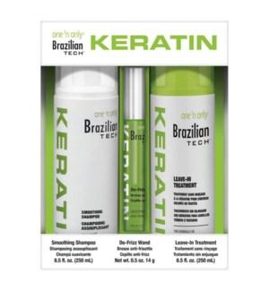 Keratin Trio Kit Shamp Wand Treat