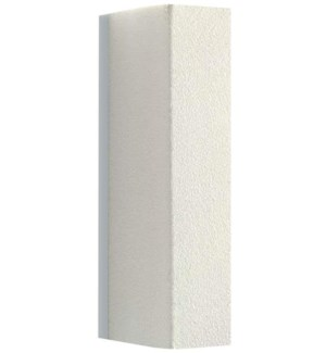 SILKLINE Hygienic Disposable White Block Display Grit 120 on all sides                    CNBO