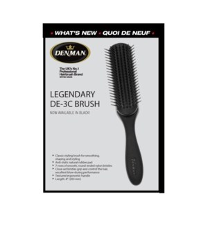 New DENMAN Classic Styling 7row Brush CR6