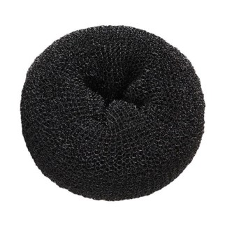 Hair Donuts Black, 3.5 Inch, 3/Pack