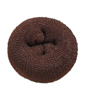 Hair Donuts Brown, 3.5 Inch, 3/Pack BESDONTBRUCC
