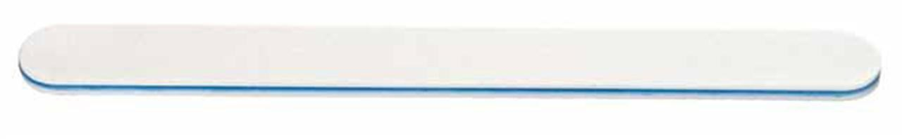 SILKLINE White Cushion Nail File, Blue 100/180 Grit
