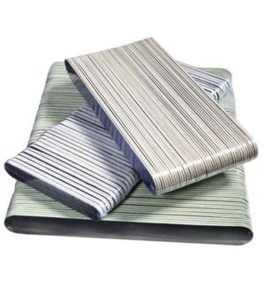 SILKLINE Cushion Files 100/180 Grit, Green 50/pk