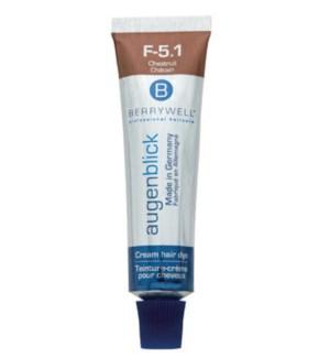 AUGENBLICK Creamy Esthetic Eyebrow Lash Hair Dye, Chestnut 15ml CNBO
