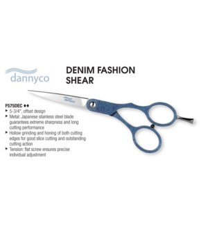 5 3/4in Denim Offset Scissors