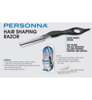 Personna Hair Shaping Razor W/5 Blades
