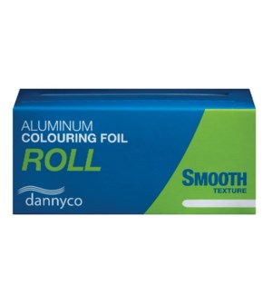 Smooth Aluminum Foil Rolls Lightweight Silver 2.2lb 690 ft