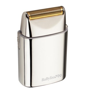 BABYLISS PRO All Metal Single Foil Shaver SILVER