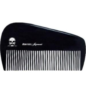 HERCULES Black Premium Hard Rubber Beard Comb 3.5 Inch