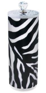 Zebra Designer Disinfectant Jar 64 Oz 4 Inch x 10 Inch