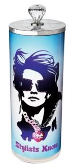 Stylist Know Disinfectant Jar Glass 64 Oz 4 Inch x 10 Inch